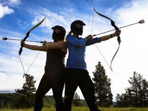 archery tag overijssel
