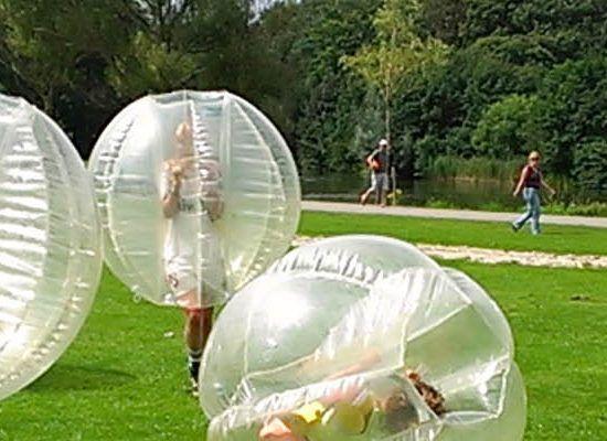 bubbel bal huren als bedrijfsuitje