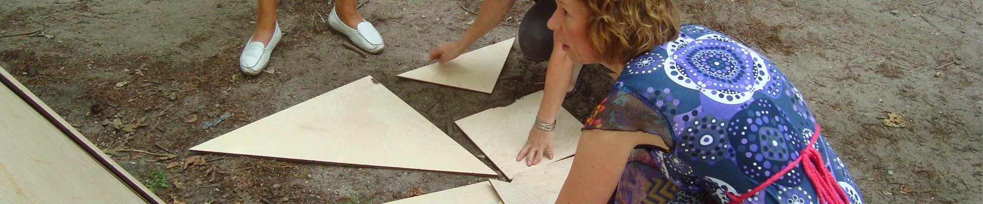 tangram spel als bedrijfsuitje