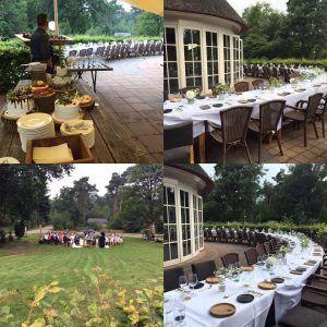 diner of buffet bij outdoors holten