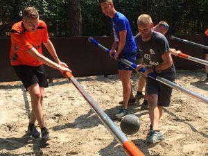levend tafelvoetbal spel spelen in holten - twente - overijssel