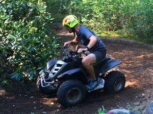 quad rijden in twente - overijssel